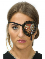 Steampunk tandwielen en kanten ooglapje voor vrouwen