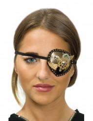 Steampunk tandwielen ooglapje voor vrouwen
