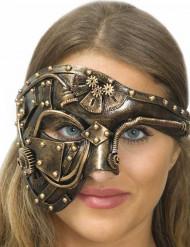 Sexy goudkleurig Steampunk masker voor volwassenen