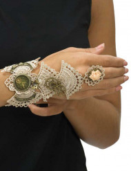 Steampunk kant armband voor vrouwen