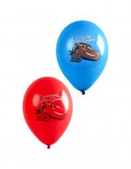 6 latex Cars™ Lightning McQueen ballonnen