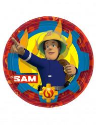 8 Brandweerman Sam™ borden 23 cm