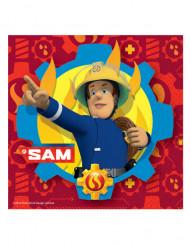 20 papieren Sam de Brandweerman™ servetten
