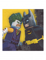 20 papieren Lego Batman™ servetten