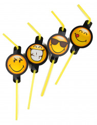 8 Smiley Emoticons™ rietjes