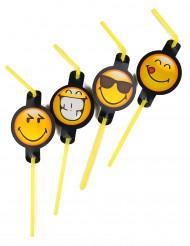 8 Smiley Emoticons™ rietjes