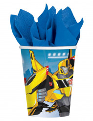 8 Transformers Robots in Disguise™ bekers