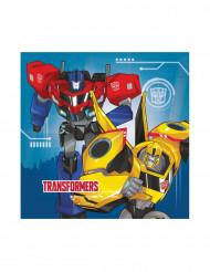 20 Transformers Robots in Disguise™ servetten