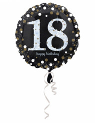 18 jaar Happy Birthday ballon