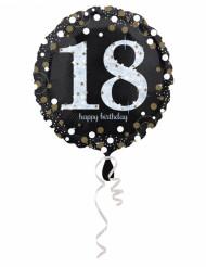 18 jaar Happy Birthday ballon
