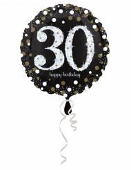 30 jaar Happy Birthday ballon