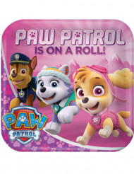 8 roze Paw Patrol™ borden