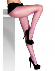 Paarse net panty voor vrouwen