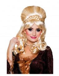 Blonde barones pruik voor vrouwen
