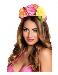 Kleurrijke bloemen haarband voor vrouwen