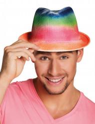Regenboog deukhoed voor volwassenen