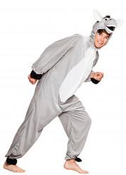 Pluche ezel kostuum voor tieners