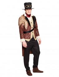 Steampunk kapitein kostuum voor mannen