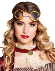Retro steampunk bril voor volwassenen