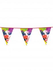 Clown vlaggenslinger