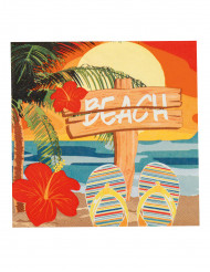 12 Hawaii Beach servetten