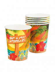 6 Beach Party bekers