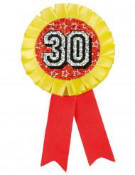 Holografische 30 medaille