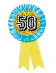 Holografische 50 medaille