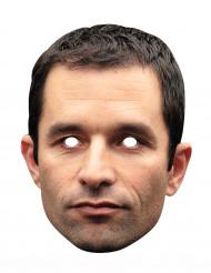 Kartonnen Benoît Hamon masker