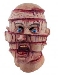 Gespleten hoofd masker voor volwassenen