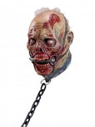 Zombie slaaf masker voor volwassenen