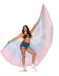 Enorme veelkleurige vleugels voor volwassenen