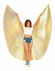 Enorme goudkleurige godin vleugels voor vrouwen