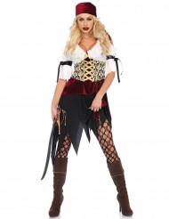 Sexy boekanier piraat kostuum voor vrouwen