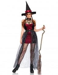 Sterren heks kostuum met afneembare rok voor vrouwen