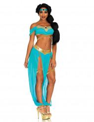Sexy blauw sprookjes prinses kostuum voor vrouwen