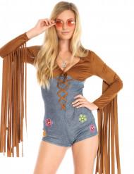 Sexy miss hippie kostuum voor vrouwen