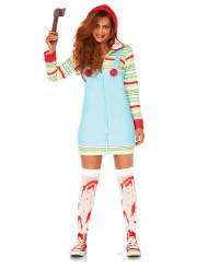 Killer pop kostuum voor vrouwen