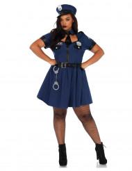 Politie agent kostuum voor vrouwen - Grote Maten