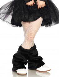 Witte netstof legging voor kinderen