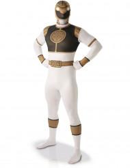Wit Power Rangers™ kostuum voor volwassenen