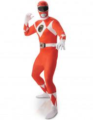 Rood Power Rangers™ kostuum voor heren