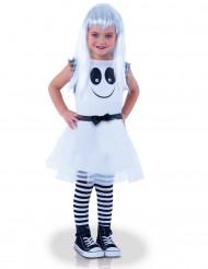 Spook kostuum met bewegende ogen voor meisjes