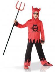 Duivel kostuum met bewegende ogen voor jongens