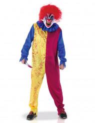 Clown psychopaat kostuum voor volwassenen