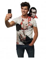 Dracula Selfie t-shirt voor volwassenen
