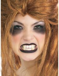 Neppe witte vampiertanden voor volwassenen