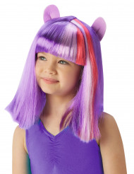 My Little Pony™ Twilight Sparkle™ pruik voor meisjes