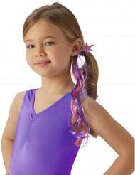 My Little Pony™ Twilight Sparkle™ haarextensie voor meisjes