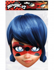 Kartonnen Miraculous™ Lady Bug™ masker